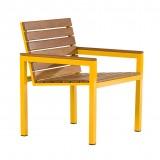 Cadeira Esrelícia em Madeira